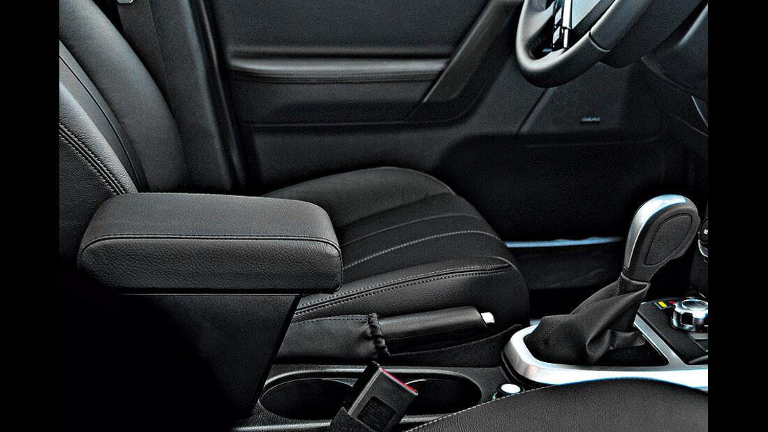 Land Rover Feelander Sondermodell Style, Innenraum