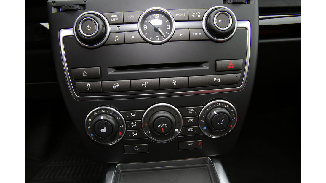 Land Rover Freelander 2.2 SD4, Bedienelemente