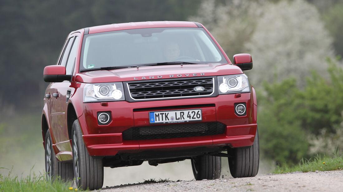Land Rover Freelander 2.2 SD4, Frontansicht