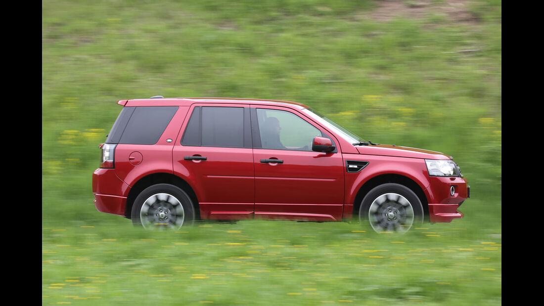 Land Rover Freelander 2.2 SD4, Seitenansicht