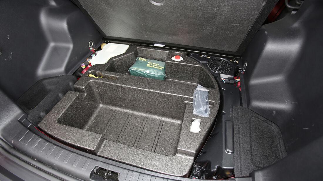 Land Rover Freelander 2.2 SD4, Stauraum