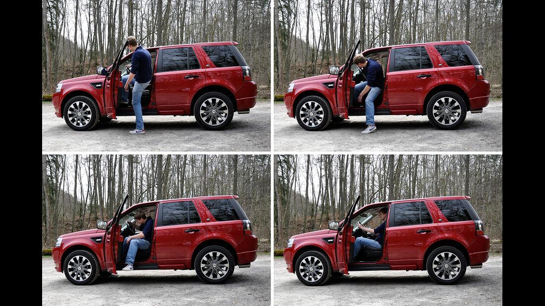 Land Rover Freelander 2.2 TD4, Einstieg