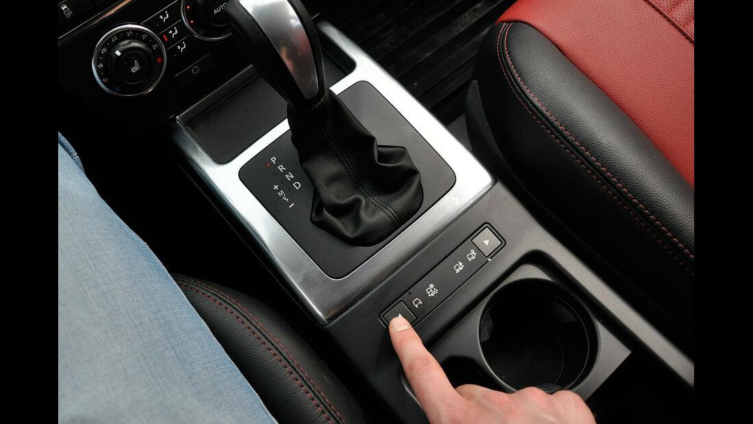 Land Rover Freelander 2.2 TD4, Getriebewählhebel, Fahrprogrammschalter