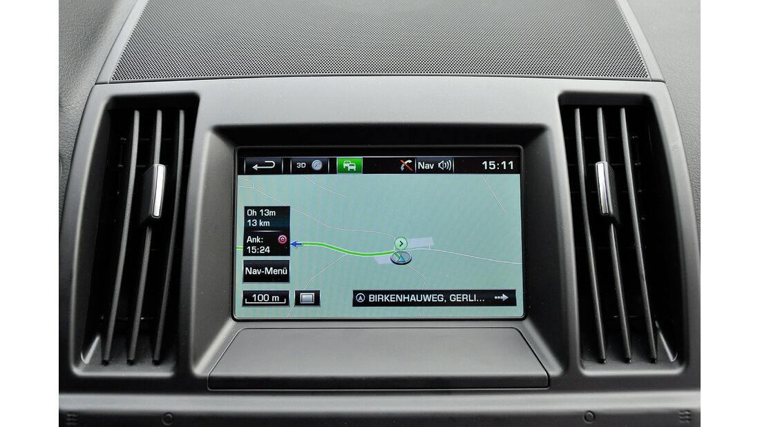 Land Rover Freelander 2.2 TD4, Infotainmentsystem, Navigation