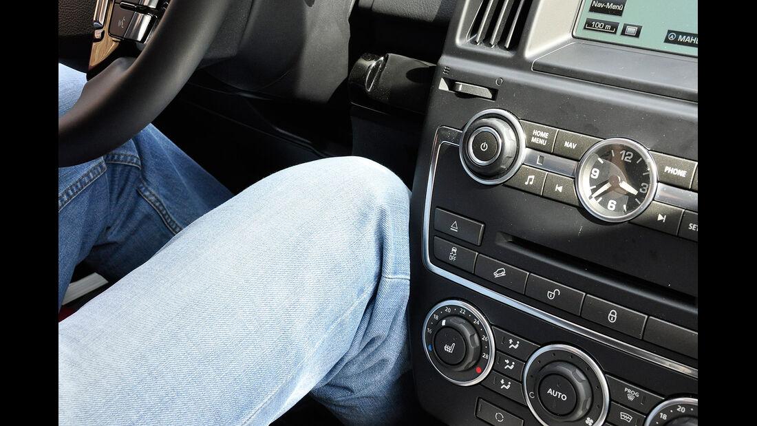 Land Rover Freelander 2.2 TD4, Innenraum, Cockpit