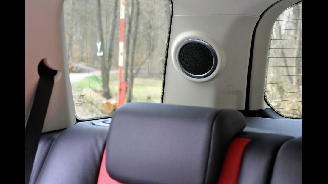 Land Rover Freelander 2.2 TD4, Lautsprecher