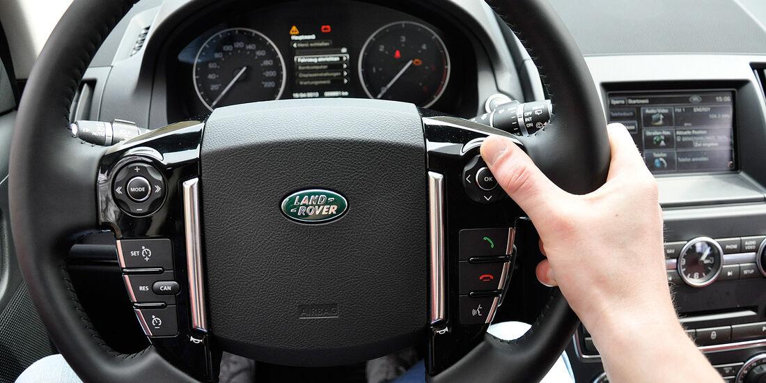 Land Rover Freelander 2.2 TD4, Lenkrad