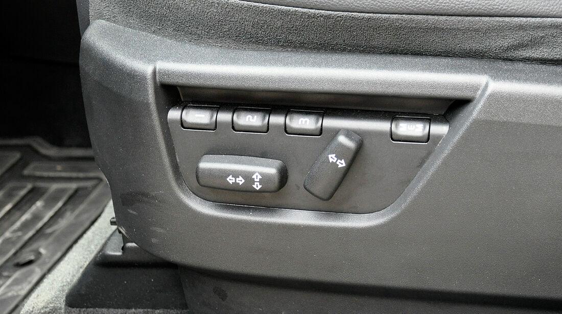 Land Rover Freelander 2.2 TD4, Sitzverstellung elektrisch