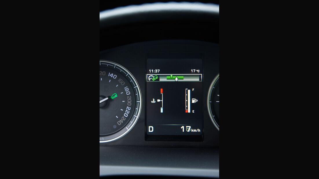 Land Rover Freelander, Anzeige, Display