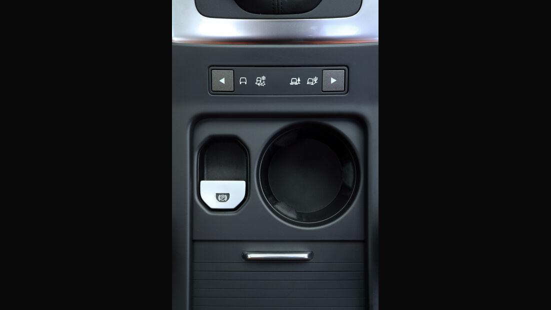Land Rover Freelander, Bedienelemente
