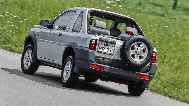 Land Rover Freelander, Exterieur