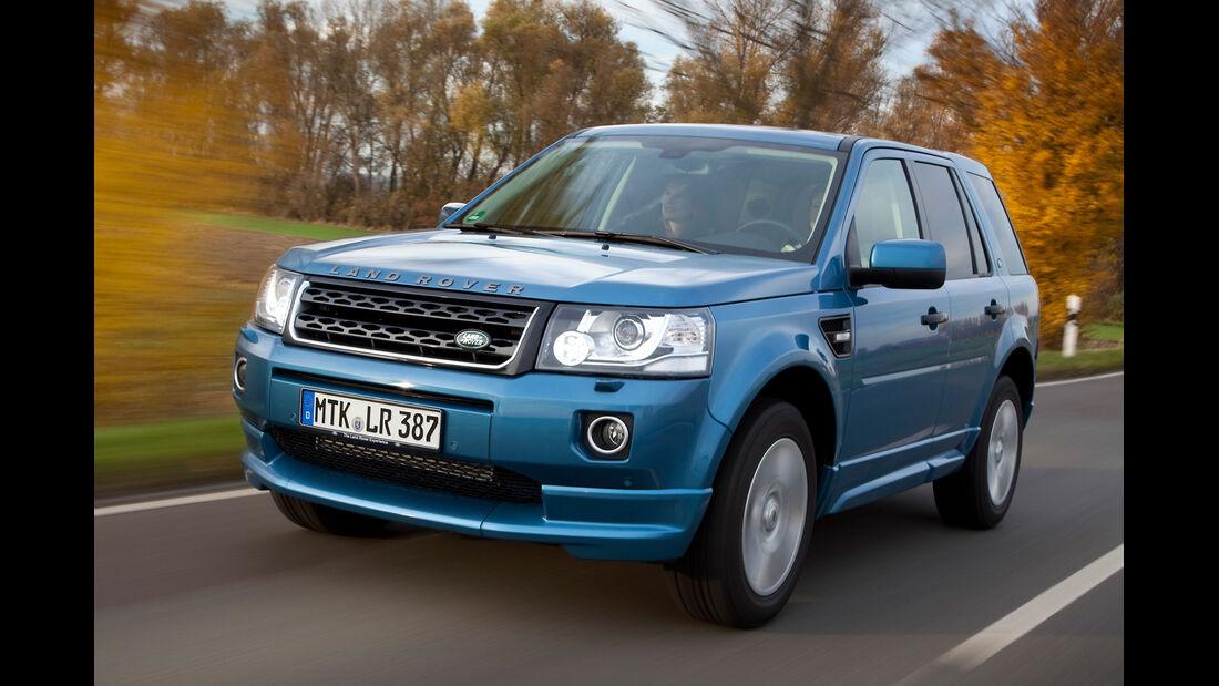 Land Rover Freelander, Frontansicht