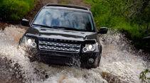 Land Rover Freelander, Frontansicht, Wasserdurchfahrt