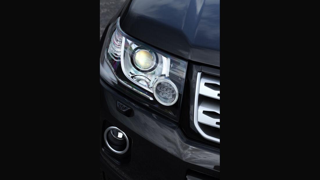 Land Rover Freelander, Frontscheinwerfer