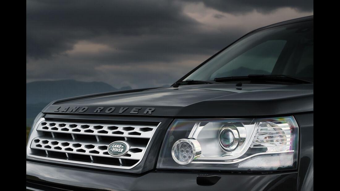 Land Rover Freelander, Frontscheinwerfer, Kühlergrill