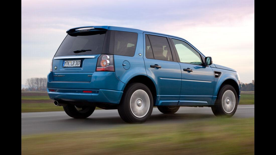 Land Rover Freelander, Heckansicht