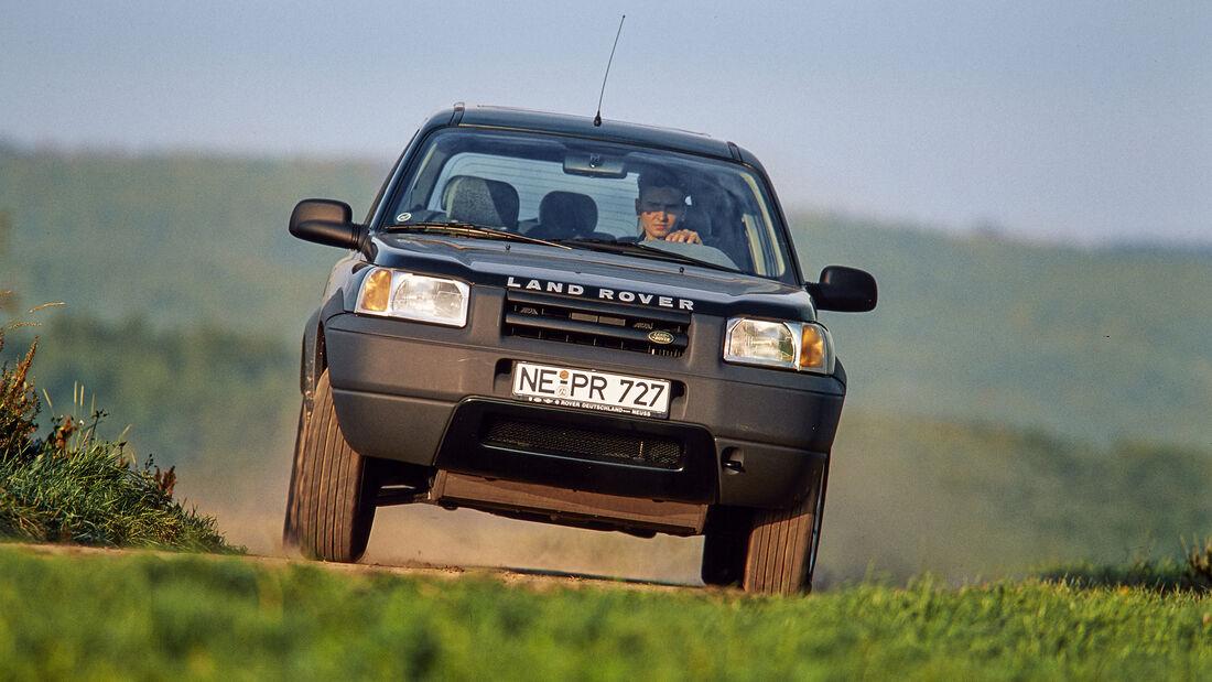 Land Rover Freelander LN 1.8i, Exterieur