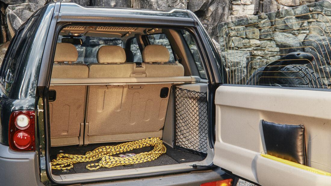 Land Rover Freelander LN 1.8i, Kofferraum