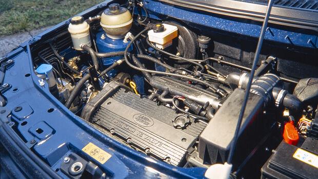Land Rover Freelander LN, Motor