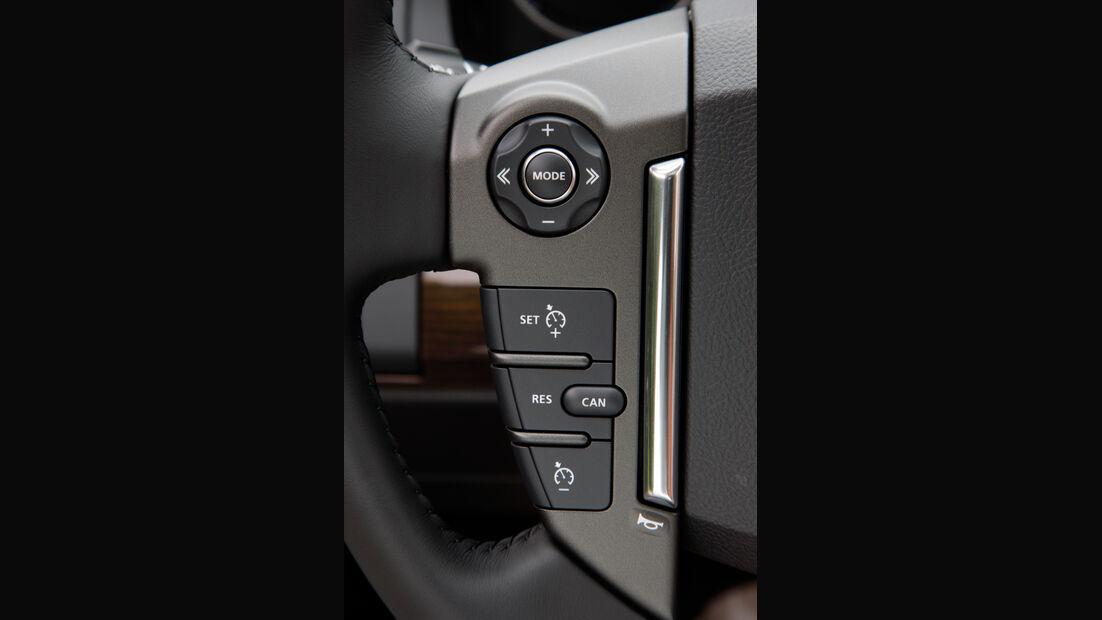 Land Rover Freelander, Lenkrad, Bedienelemente