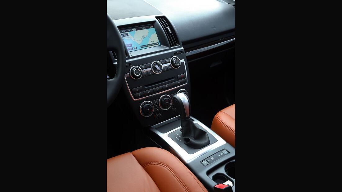 Land Rover Freelander, Mittelkonsole, Schalthebel