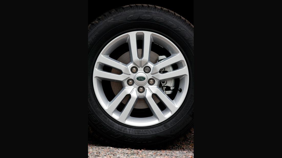 Land Rover Freelander, Rad, Felge