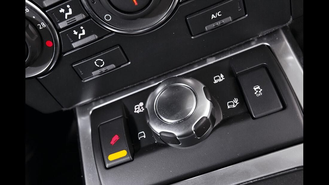 Land Rover Freelander SD4, Allradantrieb Steuerung
