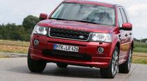 Land Rover Freelander SD4, Frontansicht