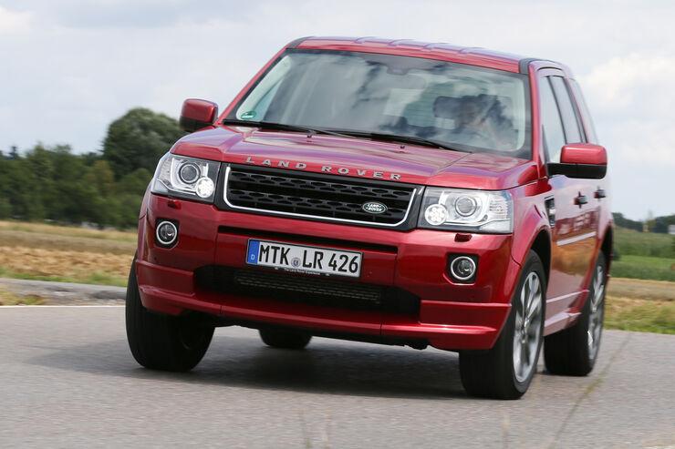 land rover freelander tests auto motor und sport. Black Bedroom Furniture Sets. Home Design Ideas