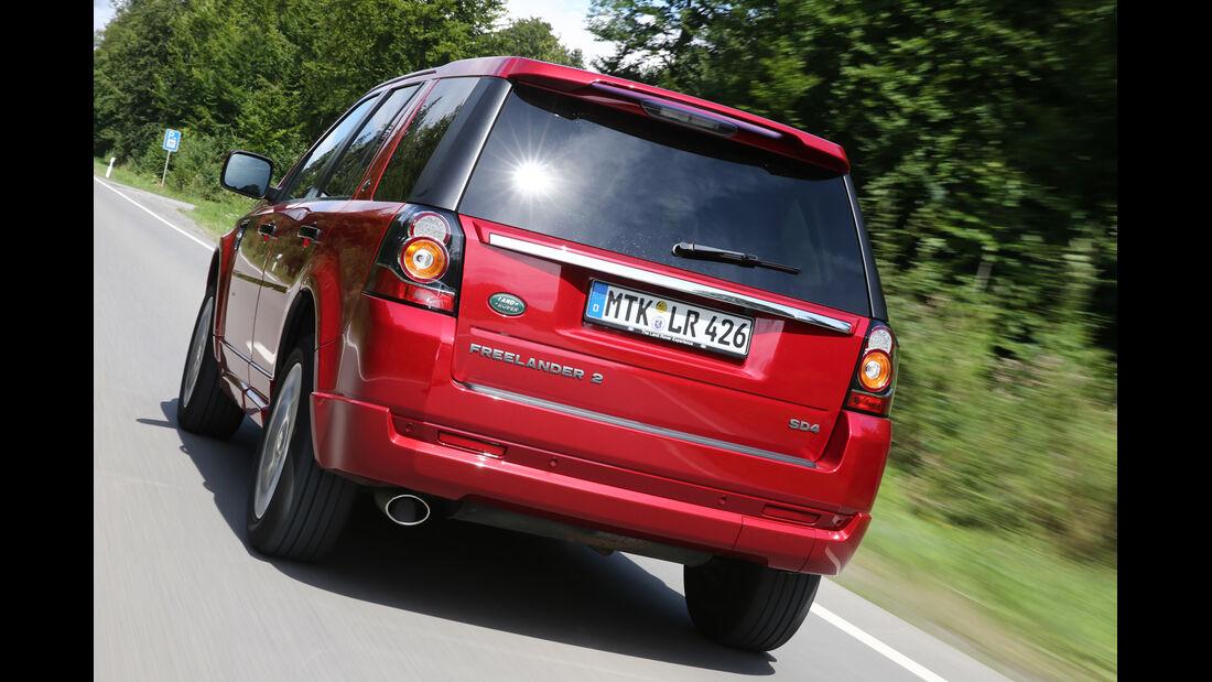 Land Rover Freelander SD4, Heckansicht