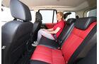 Land Rover Freelander SD4, Rücksitz, Beinfreiheit