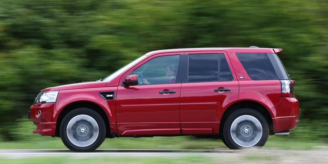 Land Rover Freelander SD4, Seitenansicht
