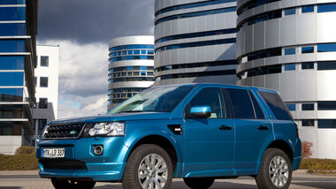 Land Rover Freelander, Seitenansicht