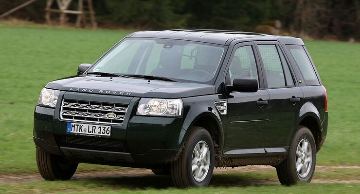 land rover freelander td4 xe im fahrbericht auto motor. Black Bedroom Furniture Sets. Home Design Ideas