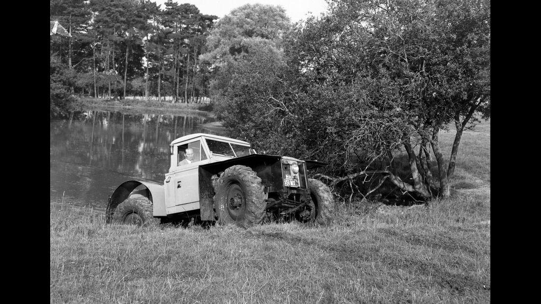 Land Rover Heritage Oldtimer 65. Geburtstag