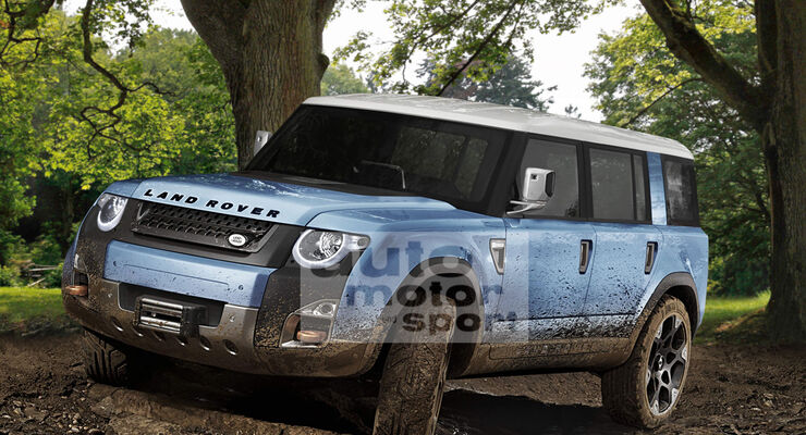 Land Rover LWB Defender