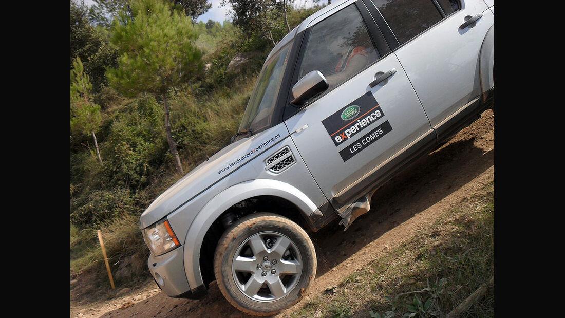 Land Rover Party Les Comes 2010