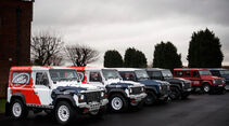 Land Rover Rallye-Defender, Modellvarianten