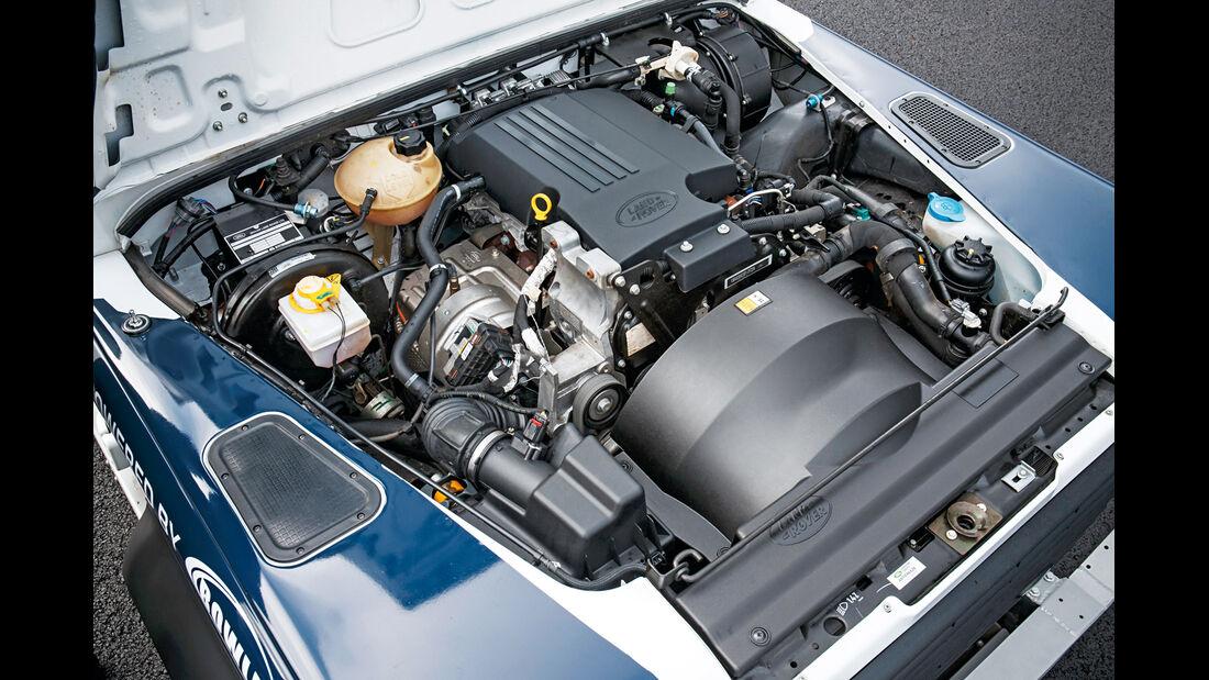 Land Rover Rallye-Defender, Motor