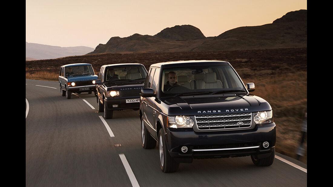 Land Rover Range Rover Modelljahr 2011