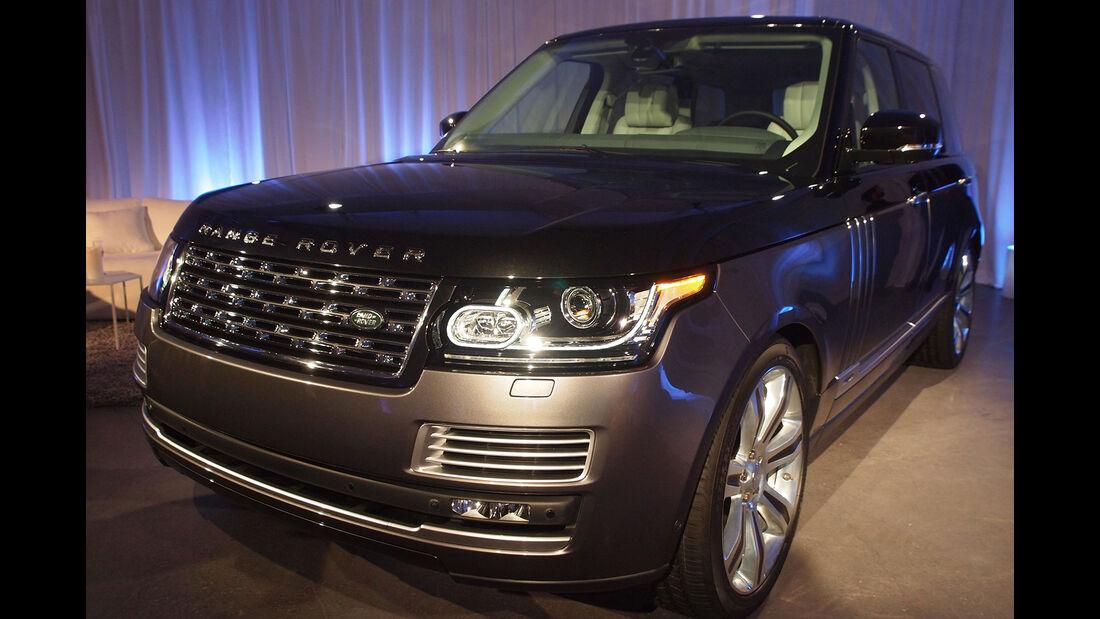Land Rover Range Rover SV Autobiography - New York Auto Show 2015
