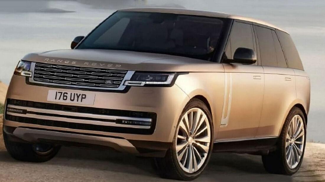 Land Rover Range Rover leak