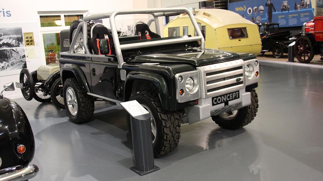 Land Rover SVX Concept im British Motor Museum