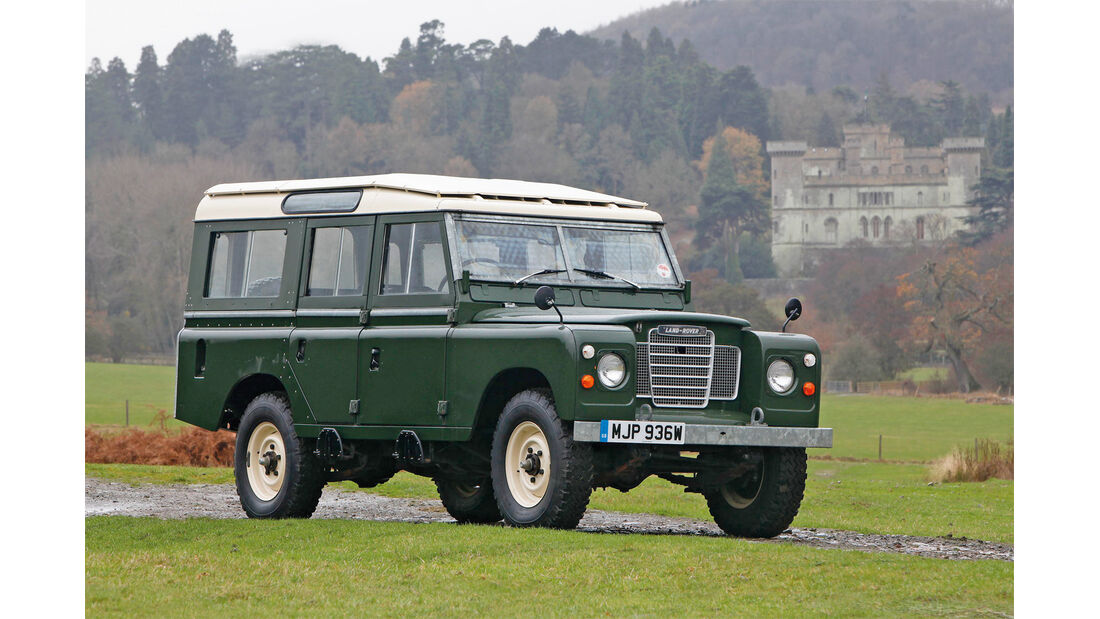 Land Rover, Seitenansicht