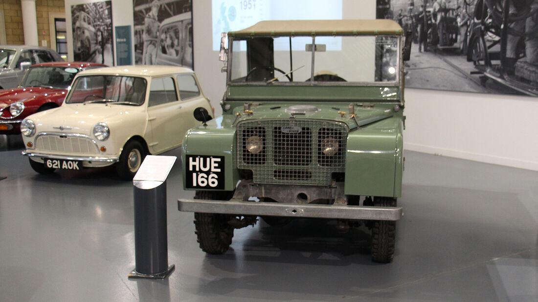 Land Rover Series I im British Motor Museum