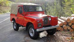 Land Rover Series II 1959 Oldtimer Auktion Toffen