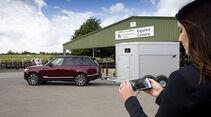 Land Rover, Transparent Trailer, Durchsichtiger Anhänger, Prototyp, Pferde