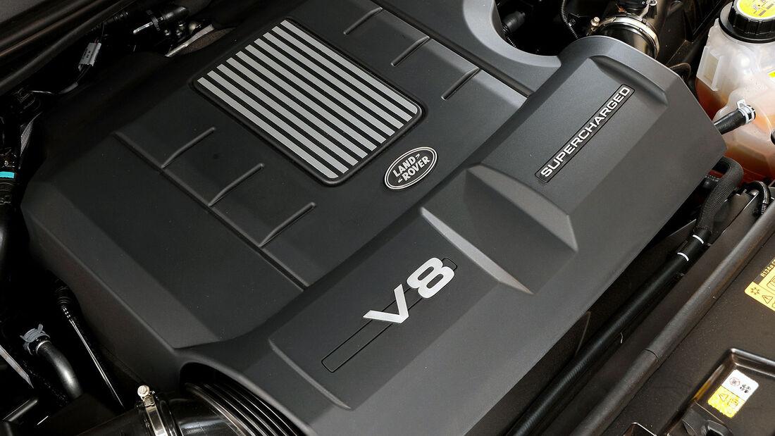 Land Rover V8-Motor