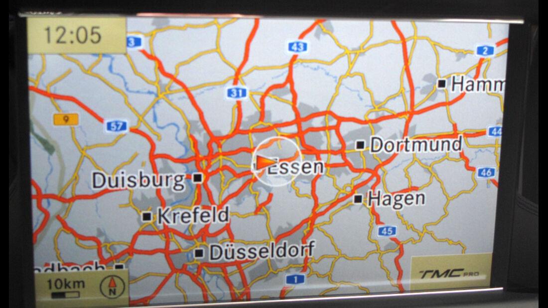 Landkarte Navigationsgerät