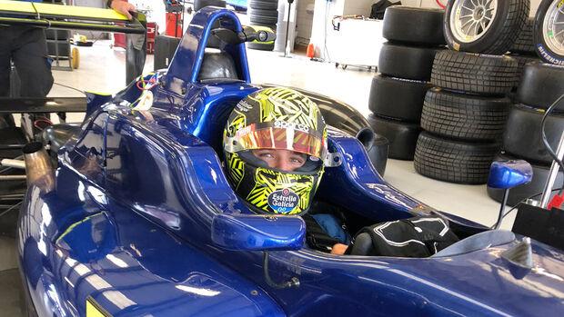 Lando Norris - Carlin - Formel 3-Test - Silverstone - Juni 2020